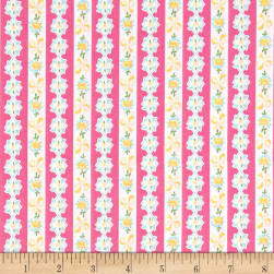 Riley Blake Dainty Darling Stripe Pink Fabric