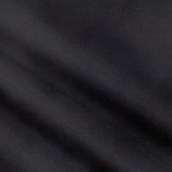 Fabric Merchants Rayon Challis Solid Black Fabric