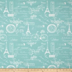Premier Prints Paris Canal Twill