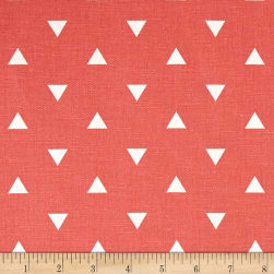 Premier Prints Triangle Coral Fabric