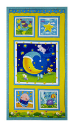 Sanja Rescek Rhyme Time 23'' Panel Yellow Fabric
