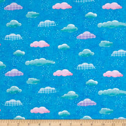 Sanja Rescek Rhyme Time Clouds Blue