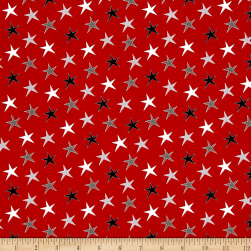 Dt-K Signature Around Town Star Red Fabric