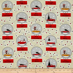 Dt-K Signature Around Town Snowglobe Beige Fabric