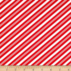 Lucie Crovatto Polar Bear Piroutte Candy Cane Stripe Red