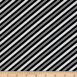 Lucie Crovatto Polar Bear Piroutte Candy Cane Stripe Black