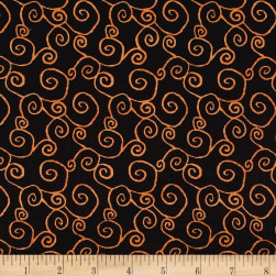 DT-K Signature Witchy Swirl Black Fabric