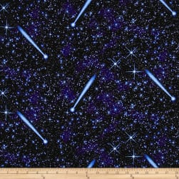Natural Treasures 2 Night Sky Blue Fabric