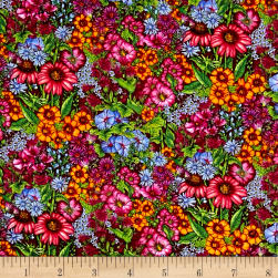 Lennie Honcoop Prairie Gate Mini Allover Floral Yellow