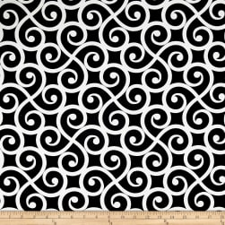Swavelle/Mill Creek Armonk Noir Fabric