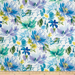Swavelle/Mill Creek Sasqua Cornflower Fabric