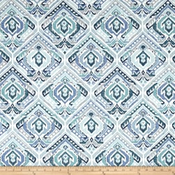 Swavelle/Mill Creek Tombo Blue Ice Fabric