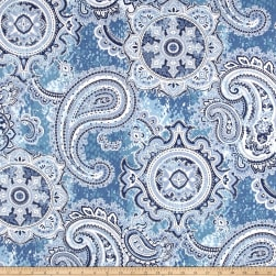 Swavelle/Mill Creek Wiscasset Denim Fabric