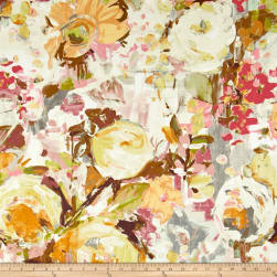Swavelle/Mill Creek Glenburn Peach Glow Fabric