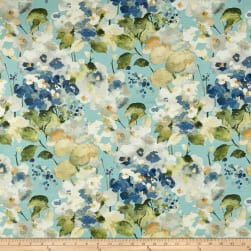Swavelle/Mill Creek Twillingate Basketweave Cerulean Fabric