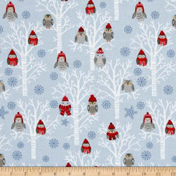 Natalie Alex Snow Delightful Winter Owls In Tress
