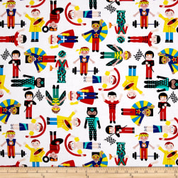 Sarah Frederking Super Heroes Multi Fabric