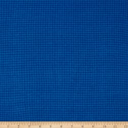 Local Color Yarn Dyed Flannels Houndstooth Royal Fabric