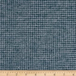 Local Color Yarn Dyed Flannels Houndstooth Gray Fabric
