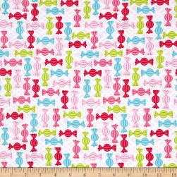 Cupcake Cafe Candy Pink Fabric
