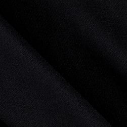 Rayon Gauze Sheer Solid Black Fabric