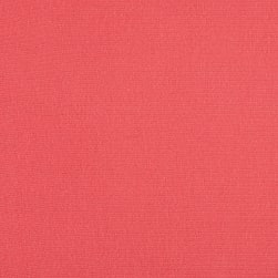 Rayon Jersey Knit Solid Coral