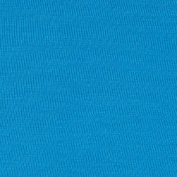 Rayon Jersey Knit Solid Sky Blue Fabric