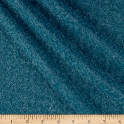 Pointelle Sweater Knit Solid Teal