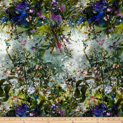 Wildwood Way Digiprint Lush Landscape Multi