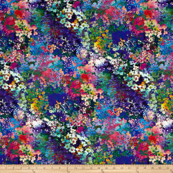 Wildwood Way Digiprint Floral Impressions Multi Fabric