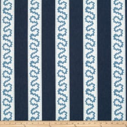 Madcap Cottage Brooks Street Twill Indigo Fabric