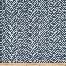 Madcap Cottage Lady Mendl Jacquard Indigo Fabric