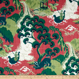 Madcap Cottage Road to Canton Strawberry Fabric