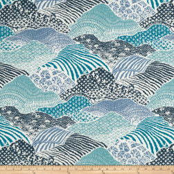 Madcap Cottage Windsor Park Indigo Fabric