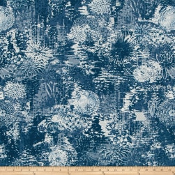 Robert Allen @ Home Fezara Indigo Fabric