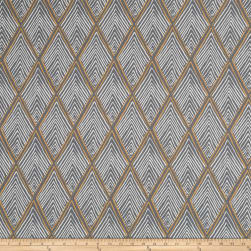 Robert Allen @ Home Rhombi Forms Greystone Fabric