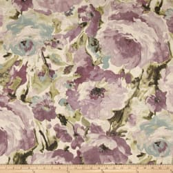 Richloom Viroqua Plum Fabric