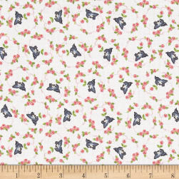 Riley Blake Kewpie Love Bird Cream Fabric