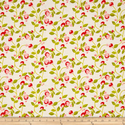 Riley Blake Hello Gorgeous Vine Cream Fabric