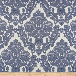 Parisian Alisace Basketweave Jacquard Damask Royal Fabric