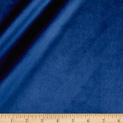 Plush Darling Velvet Navy Fabric