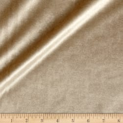 Plush Darling Velvet Beige Fabric