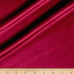 Plush Darling Velvet Burgundy Fabric
