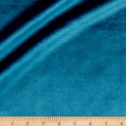 Plush Darling Velvet Teal Fabric