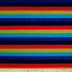 Polar Fleece Stripes Multi