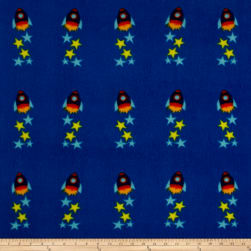 Polar Fleece Space Rocket Multi