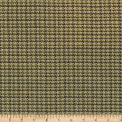 Laura & Kiran Dorset Tweed Sage/Chocolate Fabric