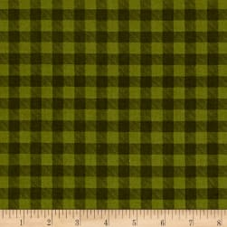 Let's Go Camping Checkered Plaid Ranger Fabric
