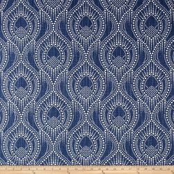 Premier Prints Alyssa Regal Navy Fabric