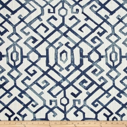 Premier Prints Jing Regal Blue Fabric